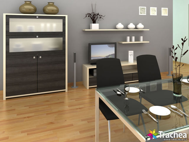 Dining room (Furniture doors: Shape 39)