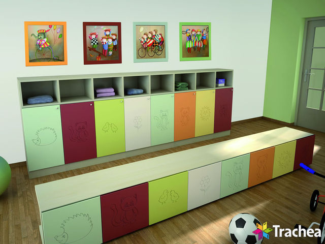 Nursery school – coat room